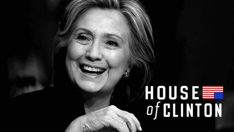 Hillary Clinton House of Cards scandal