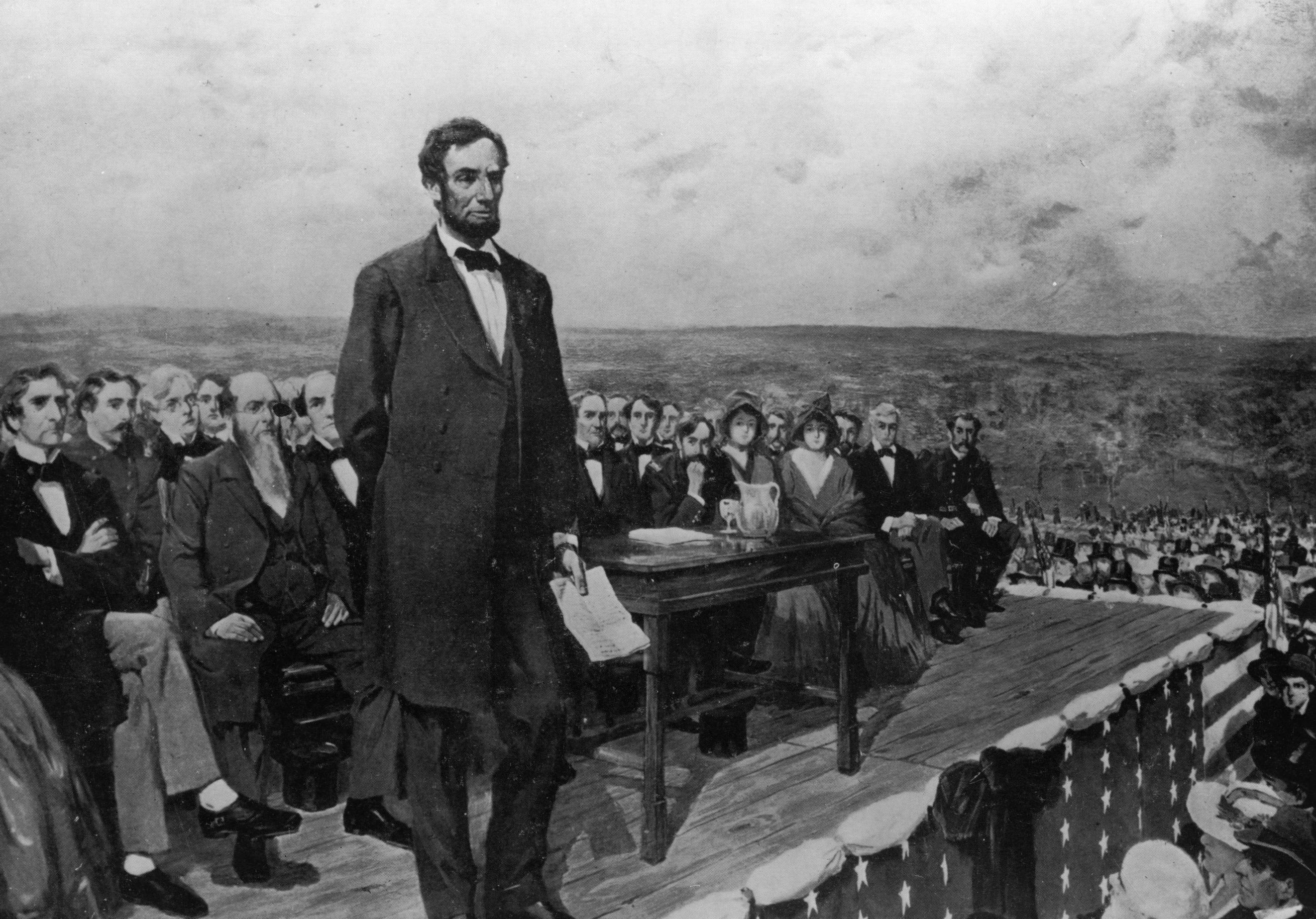 abraham lincoln s seond inaugural speech example Much more concise and philosophical than his first inaugural address, this second inaugural came at a critical time in the civil war the speech is somber even as it anticipates the successful ending of the war that had ravaged the land for four years then, while all dreaded the impending war, and.